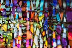 El fondo abstracto inusual del efecto luminoso, escapes ligeros, se puede utilizar en diversos modos de mezcla fotos de archivo