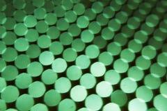 El fondo abstracto, se pone verde en bokeh negro fotos de archivo