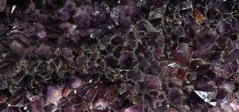 El fondo amethyst púrpura Fotografía de archivo