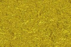 El fondo arrugado oro de la textura de la hoja, rinde fotografía de archivo libre de regalías