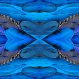 El fondo azul asombroso con la marca cruzada hecha de Azul-y-g Foto de archivo