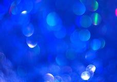 El fondo azul unfocused de la brillantez abstracta libre illustration