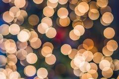 El fondo brillante de la Navidad, Año Nuevo enciende las guirnaldas Imagenes de archivo