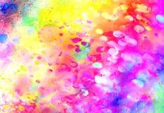 El fondo colorido brillante unfocused stock de ilustración