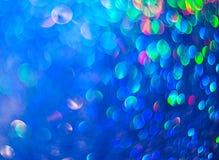 El fondo colorido unfocused de luces abstractas stock de ilustración