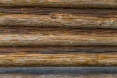 El fondo con la textura de registros Imagen de archivo
