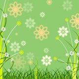 El fondo Copyspace muestra a Flora Abstract And Copy-Space Imagen de archivo libre de regalías