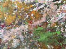 El fondo de colorido salpica de la pintura Fragmento de las ilustraciones fotografía de archivo