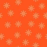 El fondo de copos de nieve Imagen de archivo