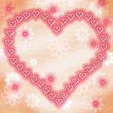El fondo de Copyspace muestra a Valentine Day And Copy-Space Imagen de archivo