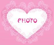 El fondo de corazones Imagen de archivo