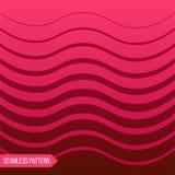 El fondo de diversas líneas curvadas clasificadas en rojo coloreó pendiente stock de ilustración