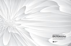 El fondo de Gray Curve Abstract, textura blanca, papel pintado, superficie, bandera, plantilla de la disposición de diseño de la  Libre Illustration