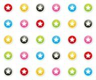 El fondo de la estrella Foto de archivo libre de regalías