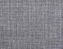 El fondo de la materia textil natural gris texturizada fotografía de archivo libre de regalías