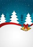 El fondo de la Navidad sazona saludos Fotografía de archivo libre de regalías
