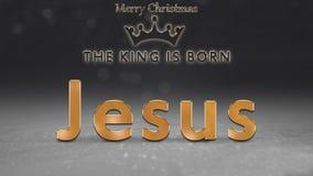 El fondo de la Navidad, tarjeta, ejemplo con de oro, brilla 2018 números, chuchería roja de la Navidad, bola Fotos de archivo