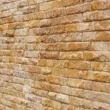 El fondo de la pared de ladrillo usado adorna Imagen de archivo