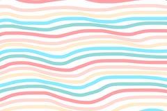 El fondo de las ondas del rosa y del azul Vector ondas abstractas rosadas del rosa del fondo, la línea de color para casarse y el Imagen de archivo