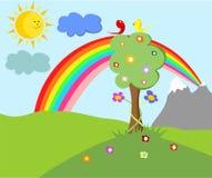 El fondo de los niños Imagen de archivo libre de regalías