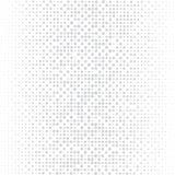 El fondo de los puntos grises de diversos tamaños tiene diversa densidad en blanco ilustración del vector