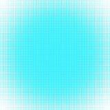 El fondo de los puntos de la turquesa de diversos tamaños tiene diversa densidad en blanco stock de ilustración