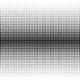 El fondo de los puntos negros de diversos tamaños tiene diversa densidad en blanco libre illustration