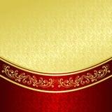 El fondo de lujo adornó un ornamento del vintage. Imágenes de archivo libres de regalías