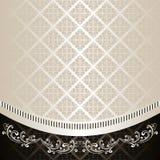 El fondo de lujo adornó un ornamento del vintage. Imagen de archivo libre de regalías