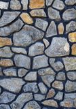 El fondo de piedras grandes recogió en un mosaico Foto de archivo libre de regalías