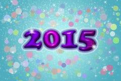 El fondo del Año Nuevo ilustración del vector