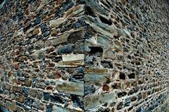 El fondo del edificio de piedra muy viejo y 3d sienten Foto de archivo libre de regalías