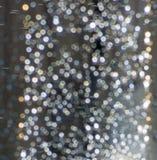 El fondo del oxígeno colorido brillante del baile burbujea en agua, festivo, decorativo y mágico imagen de archivo