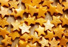 El fondo dulce colorido con la estrella del oro asperja Fotos de archivo libres de regalías