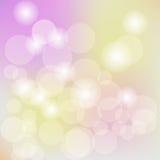 El fondo en colores pastel de la luz del bokeh, resume el fondo borroso Ilustración EPS 10 del vector libre illustration