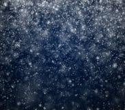 El fondo escarchado del Año Nuevo del invierno Fotografía de archivo