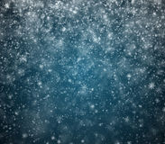 El fondo escarchado del Año Nuevo del invierno Fotos de archivo libres de regalías