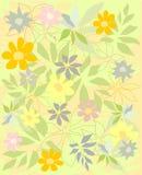El fondo florece vector Foto de archivo