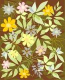 El fondo florece vector Imagen de archivo libre de regalías