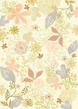 El fondo florece vector Imagen de archivo