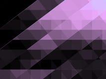 El fondo geométrico abstracto parece el texto estilizado del pergamino Foto de archivo