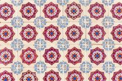 El fondo hecho de baldosas cerámicas portuguesas llamó azulejos imágenes de archivo libres de regalías