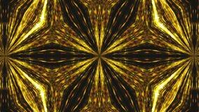 El fondo hermoso abstracto del caleidoscopio con el brillo y la iluminación, 3d rinde el contexto generado por ordenador stock de ilustración