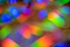El fondo hermoso con un espectro borroso del arco iris colorea i Imagenes de archivo