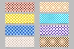 El fondo horizontal abstracto simple de la bandera fijó - diseños gráficos libre illustration