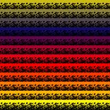 El fondo inconsútil colorido abstracto del modelo con grunge alinea el ejemplo del vector Modelo abstracto del movimiento del cep libre illustration
