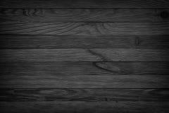 El fondo inconsútil envejecido fondo negro de la textura de madera, oscuridad corteja imágenes de archivo libres de regalías