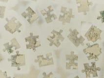 El fondo junta las piezas de rompecabezas de la parte Foto de archivo libre de regalías