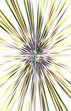 El fondo ligero de las rayas del color diverge del centro a los bordes Imagen de archivo libre de regalías