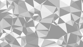 El fondo monocromático de los triángulos stock de ilustración